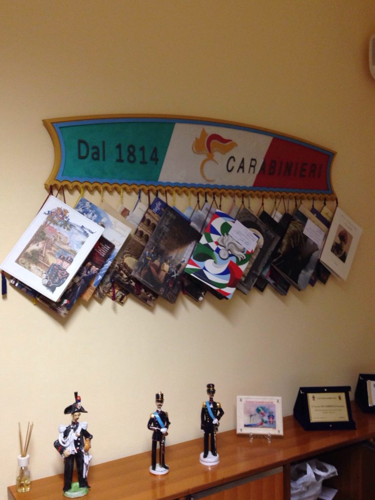 Appendi calendari per Carabinieri 3D